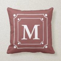 Wine Colored Pillows - Decorative & Throw Pillows | Zazzle