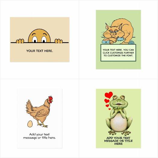 Custom Fun Card Templates