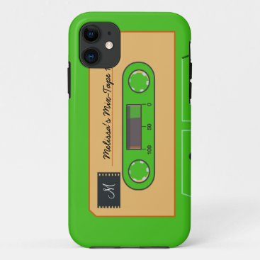 Custom Geen Mix-Tape iPhone 11 Case