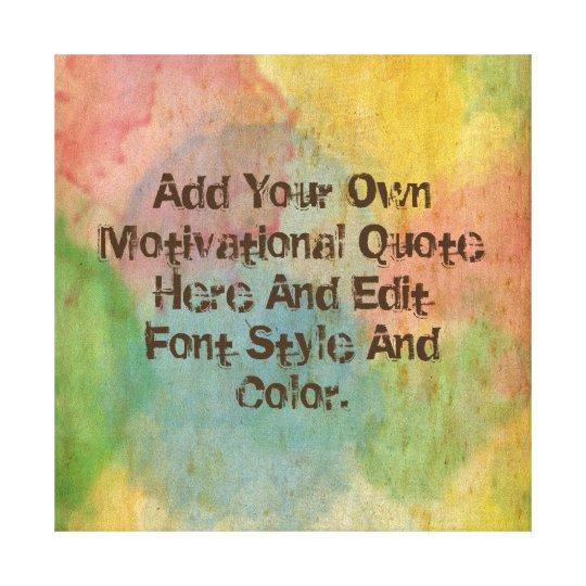 custom motivational quote make