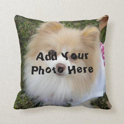 Custom Photo Pillow  Zazzle