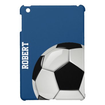 Custom Soccer iPad Mini Case