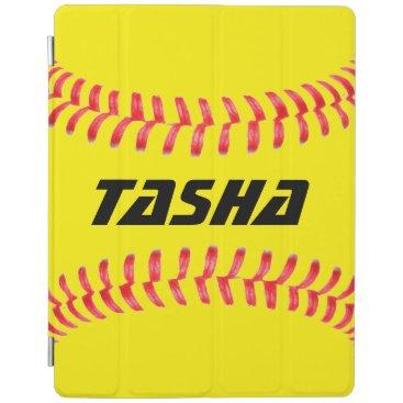 Custom Softball iPad Cover