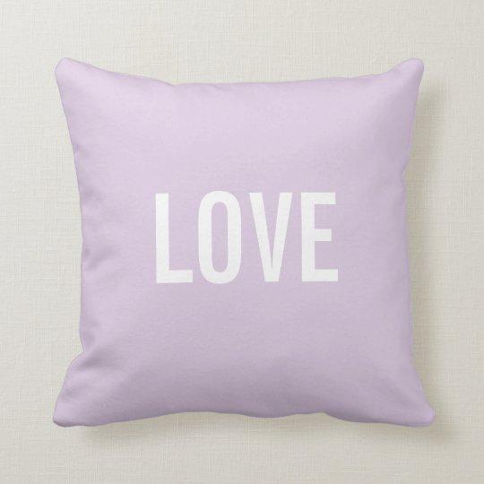 Custom Text Throw Pillows Template  LOVE  Zazzlecom