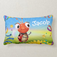 Custom wide pillow Lil' Ladybug range