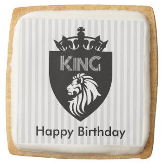 Customizable King Shortbread Cookies