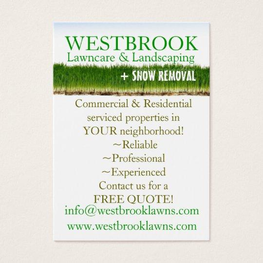 customizable lawncare & landscaping