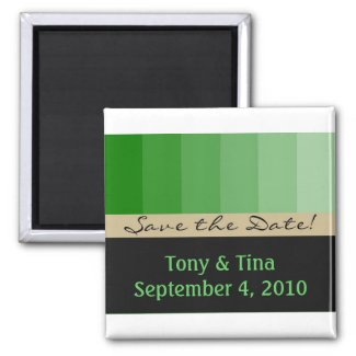 Customizable save the date magnet magnet