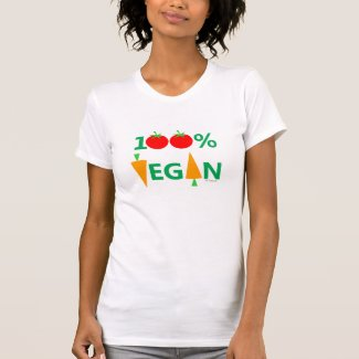 Cute 100% Vegan Tshirt