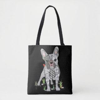Cute and Adorable French Bulldog Tote Bag