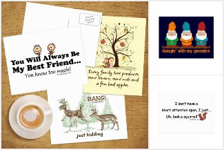 Cute and Funny Postcards