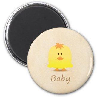 Cute Baby Chicken Cartoon Fridge Magnet