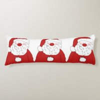 Cute Blushing Santa Body Pillow