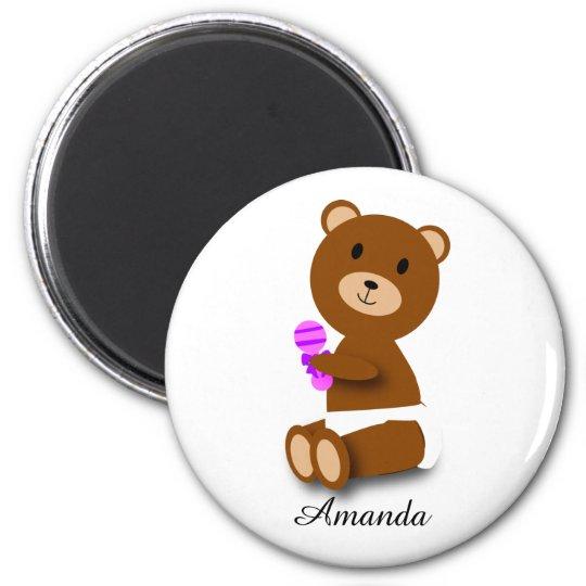 cute brown baby bear