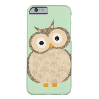 Cute Cartoon Baby Owl iPhone 6 case