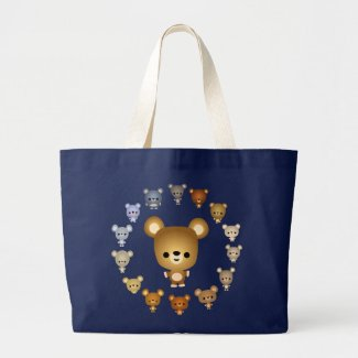 Cute Cartoon Bear Babies Bag bag