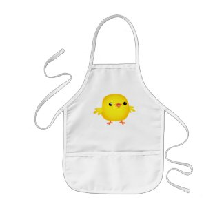 Cute Cartoon Chick :) cooking apron apron