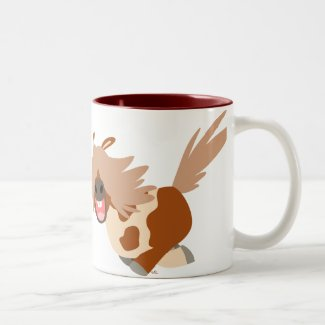 Cute Cartoon Happy Pinto Pony Mug mug