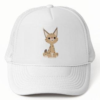 Cute Cartoon Lynx Hat hat