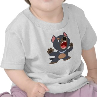 Cute Cartoon Tasmanian Devil Baby T-Shirt