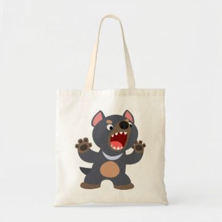 Cute Cartoon Tasmanian Devil Bag