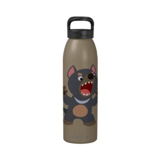 Cute Cartoon Tasmanian Devil Water Bottle