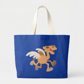 Cute Cartoon Winged-Camel Bag bag