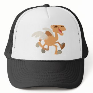 Cute Cartoon Winged-Camel Hat hat