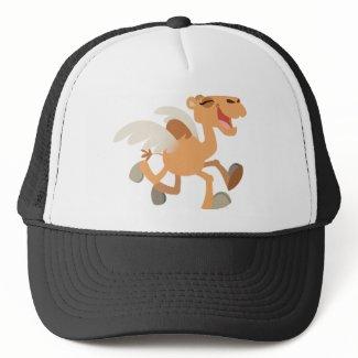 Cute Cartoon Winged-Camel Hat hat