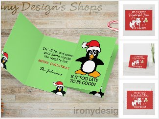 Cute Christmas Card Theme