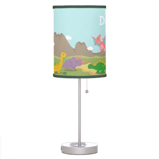 Cute Colourful Dinosaurs For Boys Room Desk Lamp