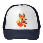 Cute Dancing Cartoon Fox Hat
