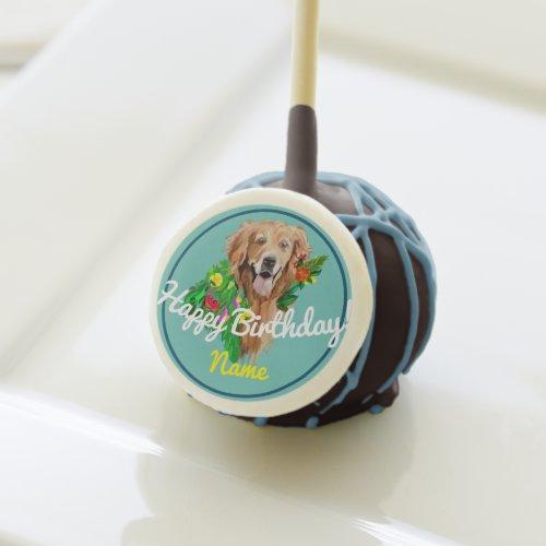 Cute Dog Dreamy Golden Retriever