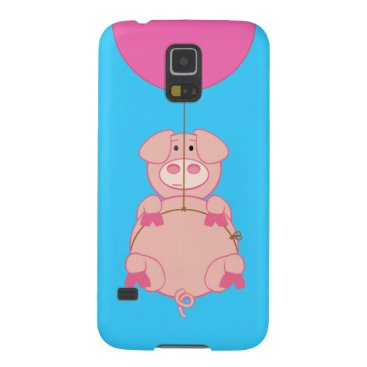 Cute Flying Pig Case For Galaxy S5
