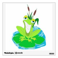 Frog For Kids Wall Decals & Wall Stickers | Zazzle