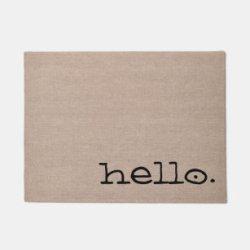 Modern Quotes Doormats & Welcome Mats Zazzle