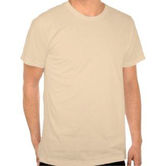 Cute Inquisitive Cartoon Tiger T-Shirt shirt