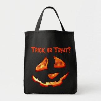 Cute Jack'o Lantern Trick or Treat Bag