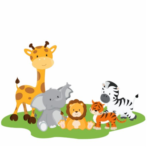 Baby Animals Safari Cute