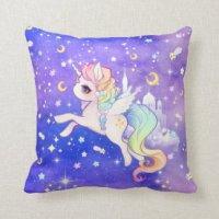 Kawaii Pillows - Decorative & Throw Pillows | Zazzle