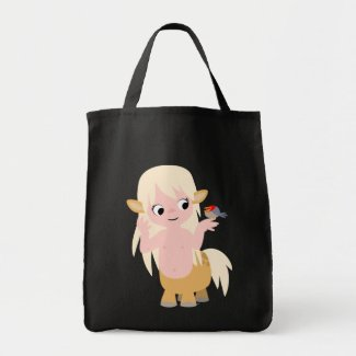 Cute Little Cartoon Centauress Bag bag