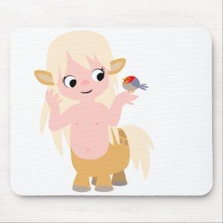 Cute Little Cartoon Centauress Mousepad mousepad