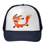 Cute Mischievous Cartoon Fox Hat