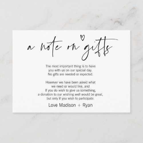 Cute Modern Wishing Well Wedding Invitation Card