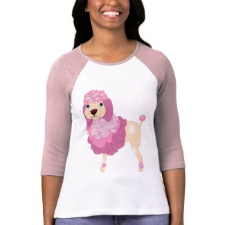 Cute Pete the Poodle zazzle_shirt