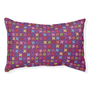 Cute Skull Pattern Small Dog Bed