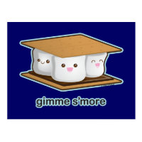 Cute S'more Postcard