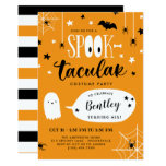 Cute Spooktacular Kids Halloween Birthday Invitation