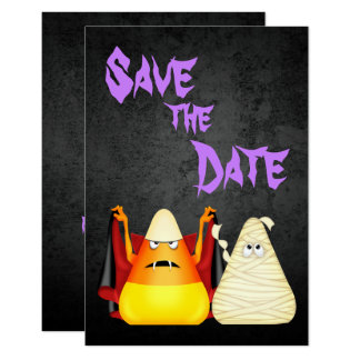 Halloween Save The Date Invitations & Announcements  Zazzle