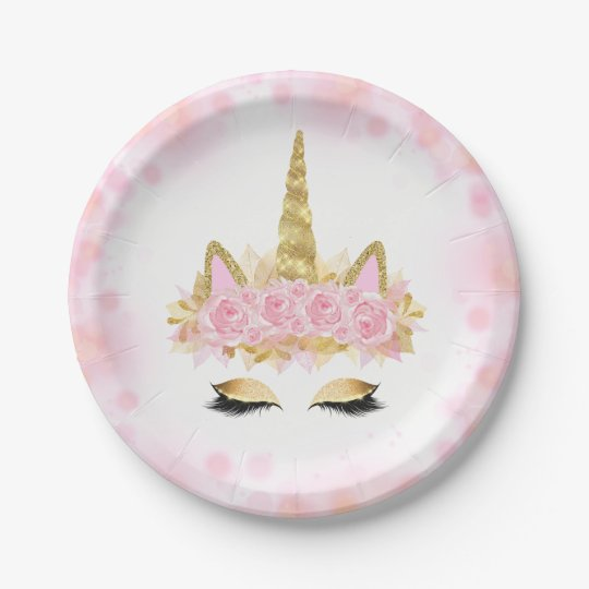 unicorn face unicorn paper napkins